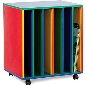 Multi Coloured Mobile Big Book Holder £0 - Education Furniture