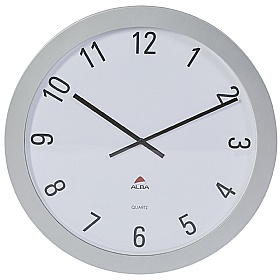 Alba Giant Round Wall Clock £0 - Office Furnishings