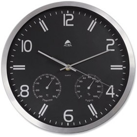 Alba Weather Clock £42 - Office Furnishings