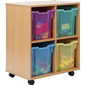 Storage Allsorts 4 Jumbo Jelly Tray Unit £184 - Education Furniture
