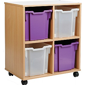 Storage Allsorts 4 Jumbo Tray Unit £0 - Education Furniture