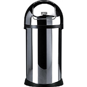 Brabantia Self Closing Dome Top Litter Bin - 50 Litre £0 - Office Furnishings