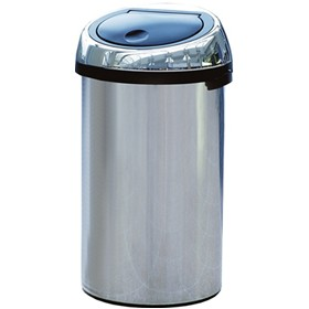Brabantia Self Closing Touch Top Litter Bin - 50 Litre £0 - Office Furnishings