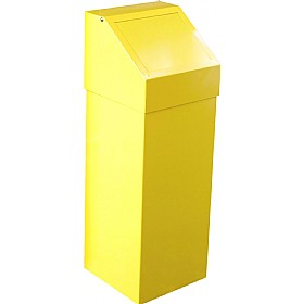 Fire Retardant Push Flap Litter Bin - 60L £134 - Office Furnishings
