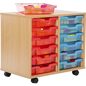 12 Tray Shallow Jelly Bean Storage £0 - Education Furniture