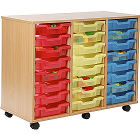 24 Tray Shallow Jelly Bean Storage £0 - Education Furniture