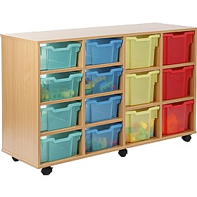 14 Tray Variety Jelly Bean Storage £0 - Education Furniture