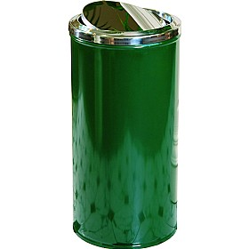 Self Closing Fire Retardent Litter Bin  - 60 Litre £0 - Office Furnishings