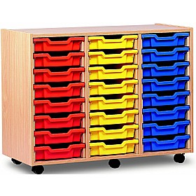 24 Tray Shallow Storage £0 - Education Furniture