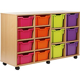 14 Tray Variety Storage Brights £0 - Education Furniture