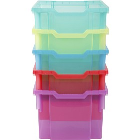 Gratnells Jelly Bean Extra Deep Trays - Minimum Quantity 8 £0 - Education Furniture