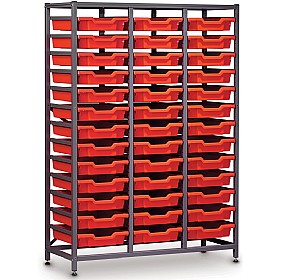 Gratnells 3 Column Midi 39 Tray Storage Rack £0 - Education Furniture
