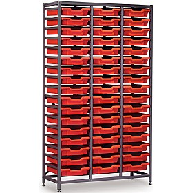 Gratnells 3 Column High 51 Tray Storage Rack £0 - Education Furniture
