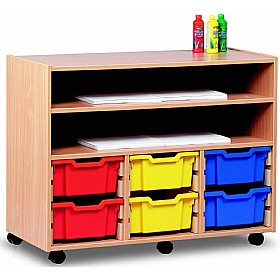 Art Storage 6 Tray Combination Unit £0 - Education Furniture