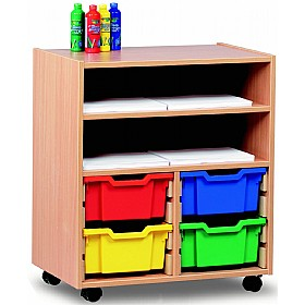 Art Storage 4 Tray Combination Unit £0 - Education Furniture