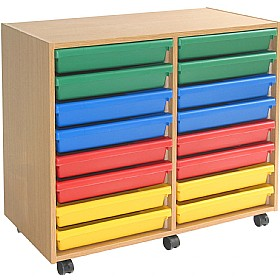 16 Tray A3 Paper Art Storage Unit £0 - Education Furniture