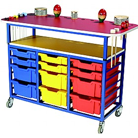 Multi Purpose Music Trolley £378 - Education Furniture