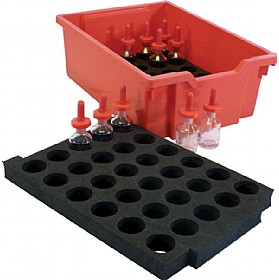 Gratnells Lab Bottles Tray Insert £5 - Education Furniture