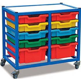Gratnells 2 Column Classroom Trolley £0 - Education Furniture