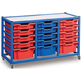 Gratnells 3 Column Classroom Trolley £0 - Education Furniture