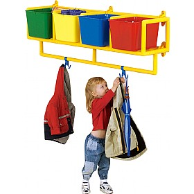 4 Cubby Coat Storage £79 - Education Furniture