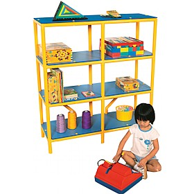 4 Tier Storage Shelf Unit £0 - Education Furniture