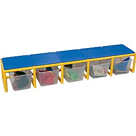 5 Section Bench £0 - Education Furniture
