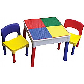 Square Activity Table & Chairs £52 - Education Furniture