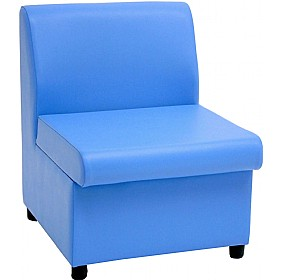 Tatton Lexaire Vinyl Reception Chairs £154 - Reception Furniture