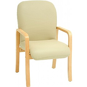 Alderley Sierra Vinyl Reception Armchairs £215 - Reception Furniture