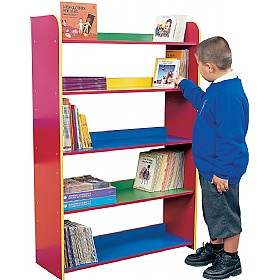 5 Shelf Bookcase £0 - Education Furniture
