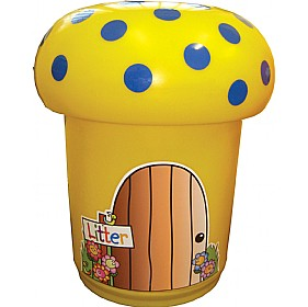 Mushroom Litter Bins £267.75 - Education Furniture