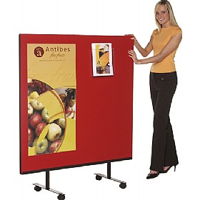 Mobile Velcro Friendly Office Partition Screens £114 - Office Screens