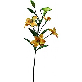 Single Stem Asiatic Lily - Golden Yellow £0 - Office Furnishings