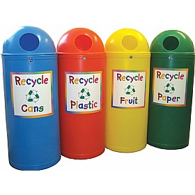 Slimline Classic Junior Recycling Bins £0 - Office Furnishings