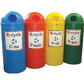 Slimline Classic Junior Recycling Bins Waste Bins