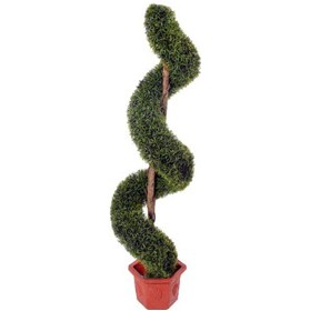 5ft Spiral Grass Topiary £0 - Office Furnishings