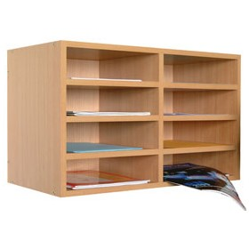 Wall Mounted Literature Organiser £105 - Education Furniture