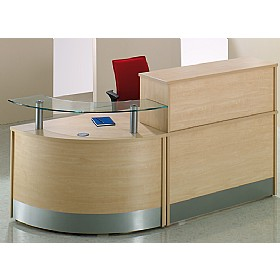 X-Range Compact Reception £1537 - Reception Furniture