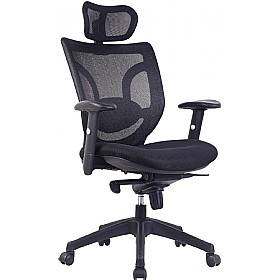 Aral Mesh Back Manager Chair £188 - Office Chairs
