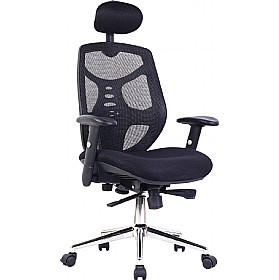 Timar Mesh High Back Manager Chair £195 - Office Chairs
