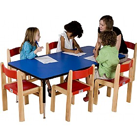 Adjustable Height Rectangular Top Table £0 - Education Furniture