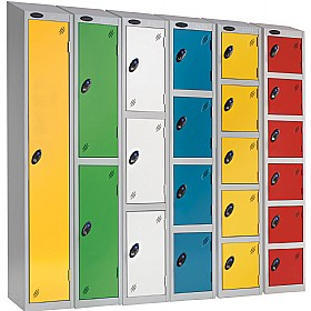 Premium Sloping Top Lockers With ActiveCoat £0 - Education Furniture