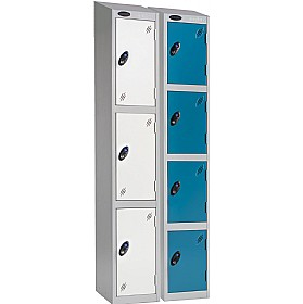 Economy Imperial Sloping Top Lockers With ActiveCoat £74 - Education Furniture