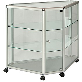 Low Level Corner Glazed Display Cabinet £1288 - Display/Presentation