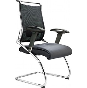 Coral Mesh Back Visitor Chair £202 - Office Chairs