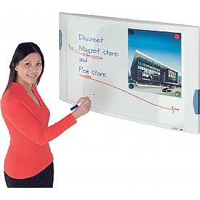 Convex Magnetic Whiteboard £93 - Display/Presentation
