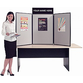 Busyfold Light XL Tabletop Folding Display Systems £120 - Display/Presentation