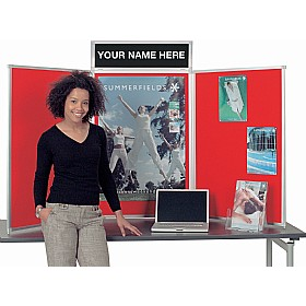 Busyfold Heavy Duty Tabletop Folding Display Systems £157 - Display/Presentation