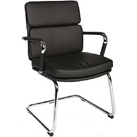 Deco Visitor Chair Black £126 - Office Chairs